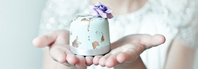 How to make mini wedding cakes favors