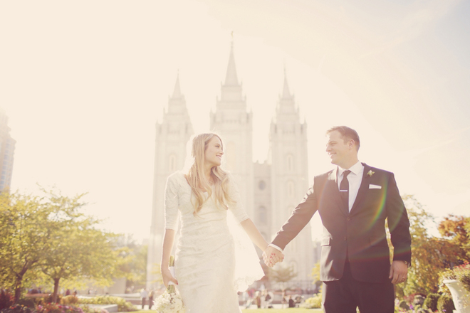 Vintage White Wedding : Happily Ever After in Utah