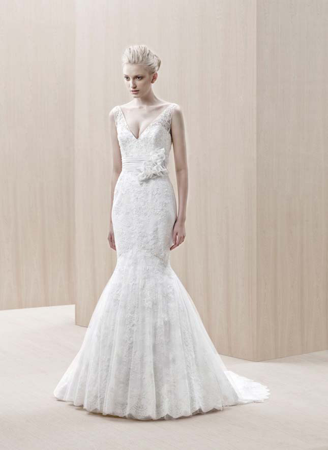 Dress of The Week + Blue by Enzoani 2012