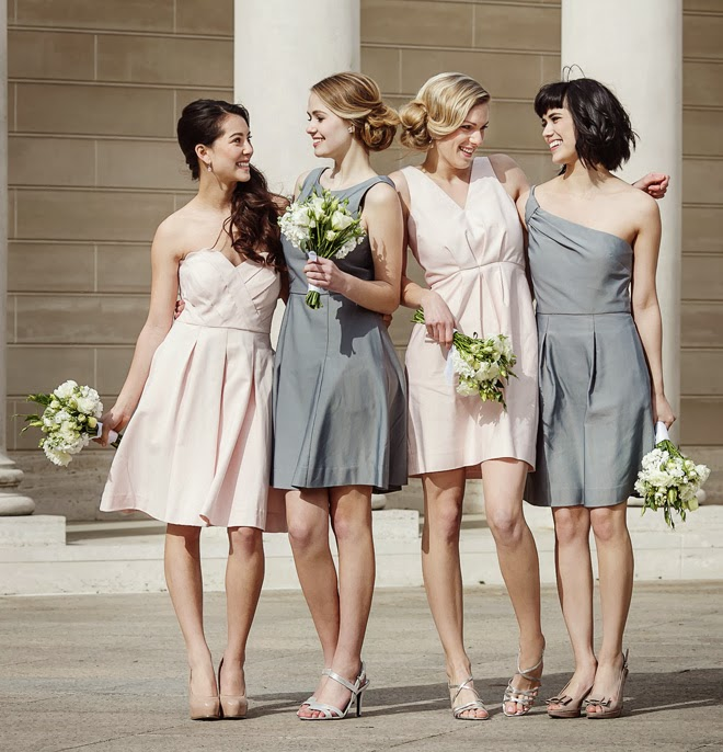 Fabulous Mismatched Bridesmaids Looks with Weddington Way +  Free Dress Giveaway!