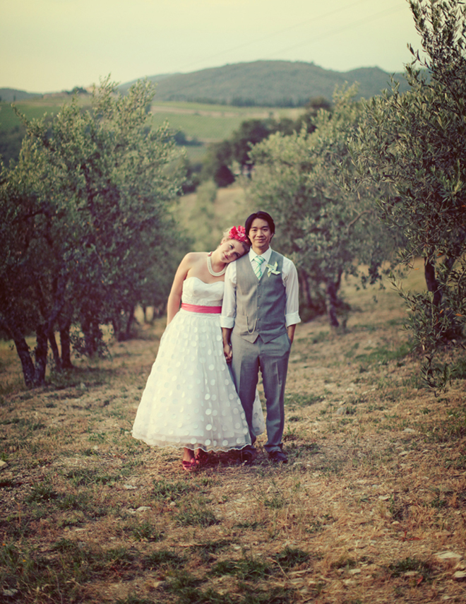 A Whimsical Wedding in Tuscany