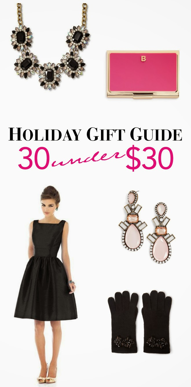Holiday Gift Guide: 30 Under $30