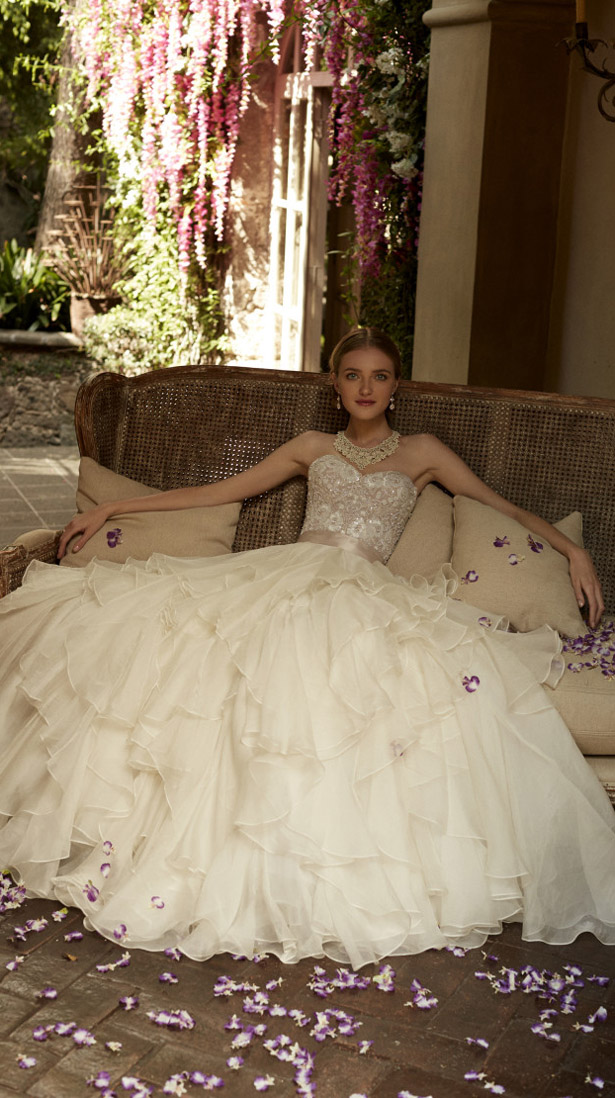 BHLDN Spring 2015 Bridal Collection - The Painted Garden - Belle The ...