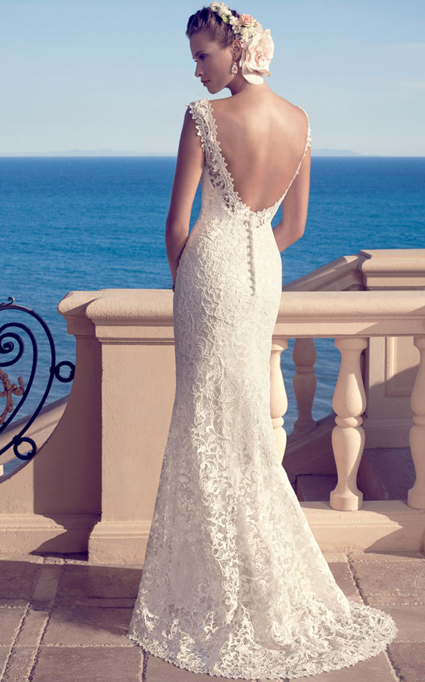 Casablanca Bridal Spring 2017 2183 Back