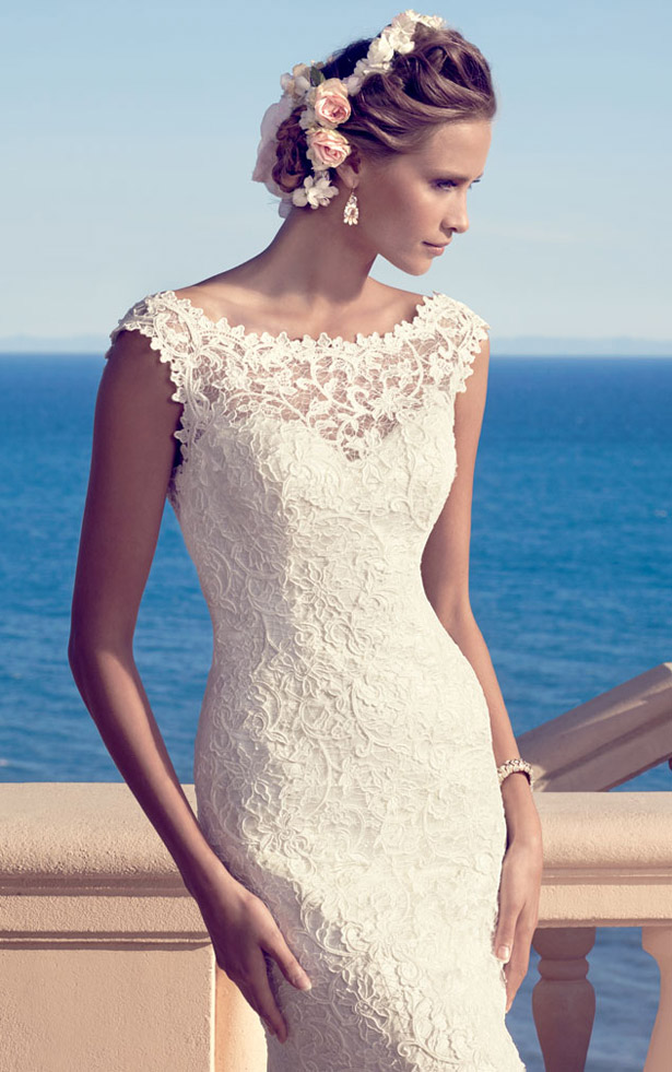 Casablanca Bridal Spring 2015  2183_Close_Up