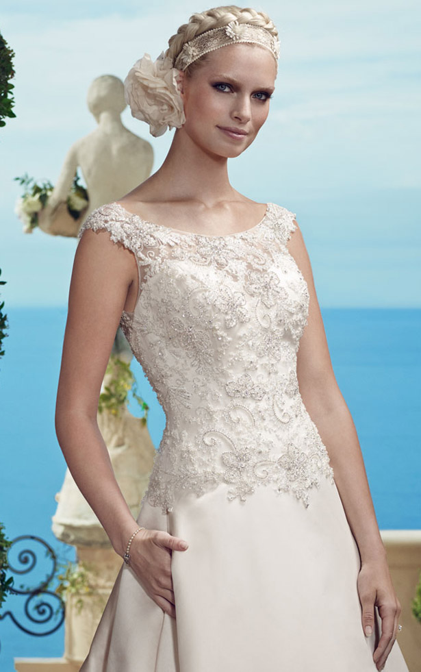 Casablanca Bridal Spring 2015 2184_Close_Up