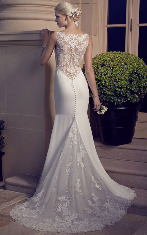 Casablanca Bridal Spring 2015 2186_Back