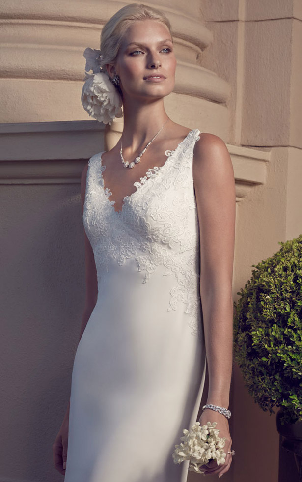 Casablanca Bridal Spring 2015 2186_Close_Up