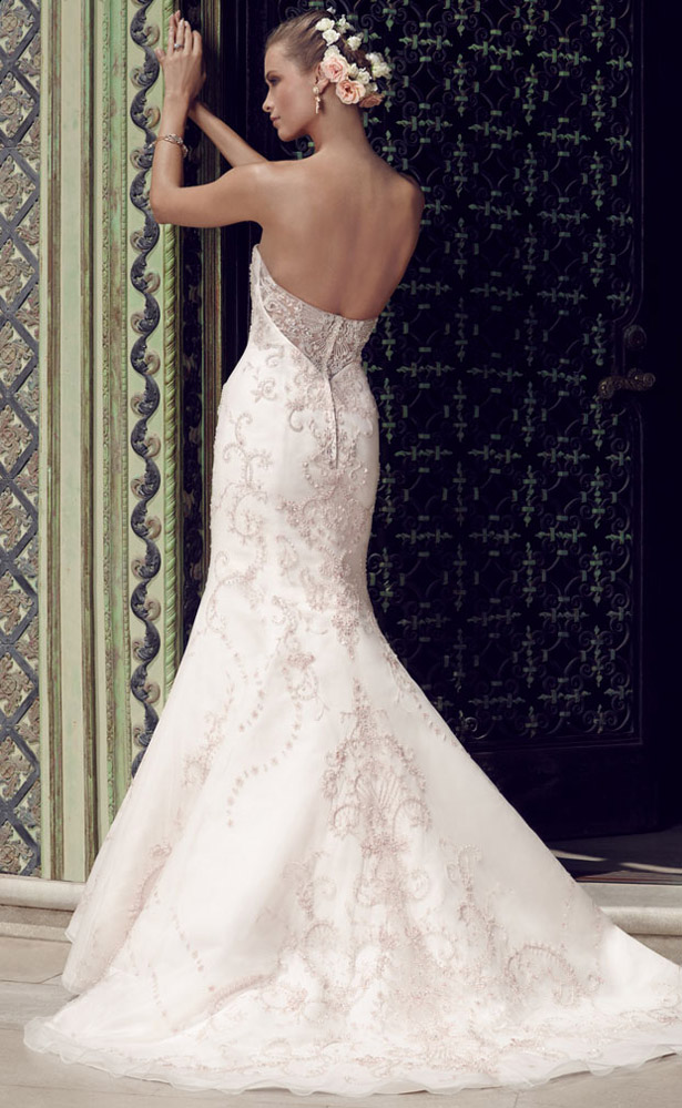 Casablanca Bridal Spring 2015 2189_Back