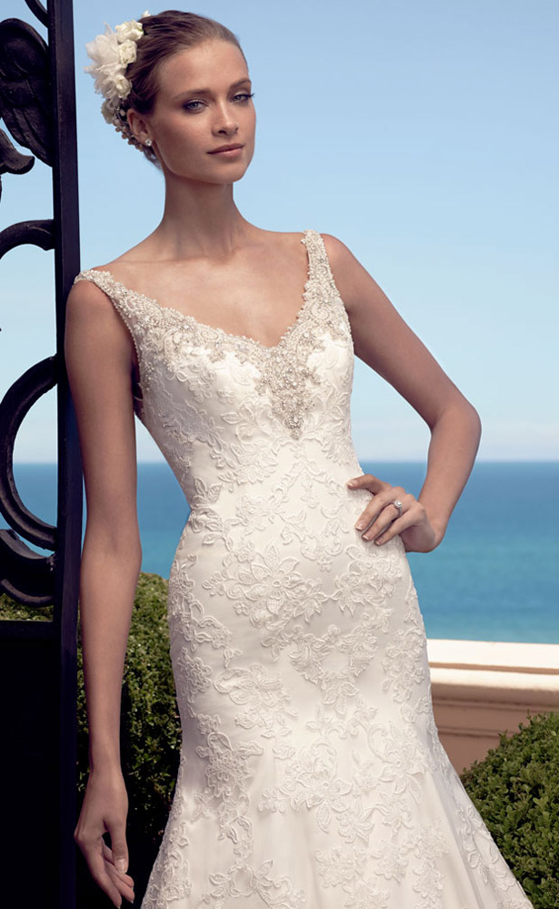 Casablanca Bridal Spring 2015 2190_Close_Up_Web