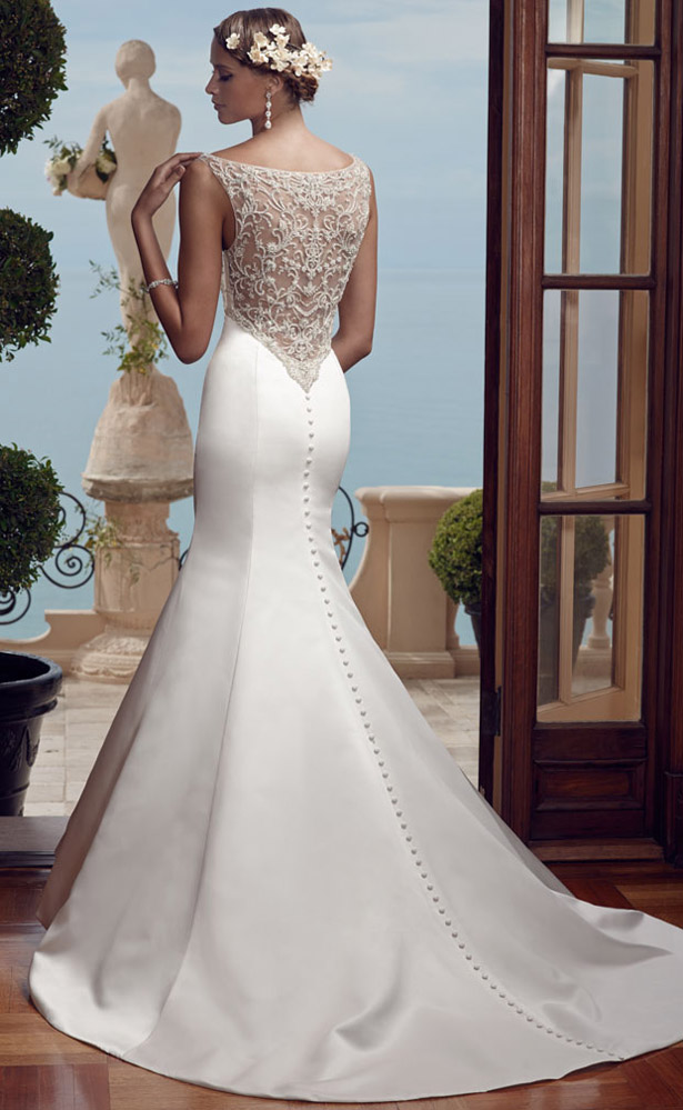 Casablanca Bridal Spring 2015 2193_Back