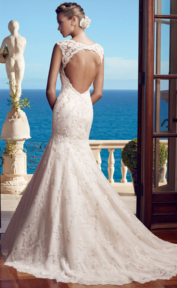 Casablanca Bridal Spring 2015 2195_Back