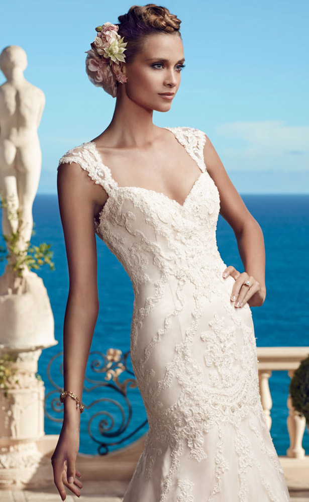 Casablanca Bridal Spring 2015 2195_Close_Up