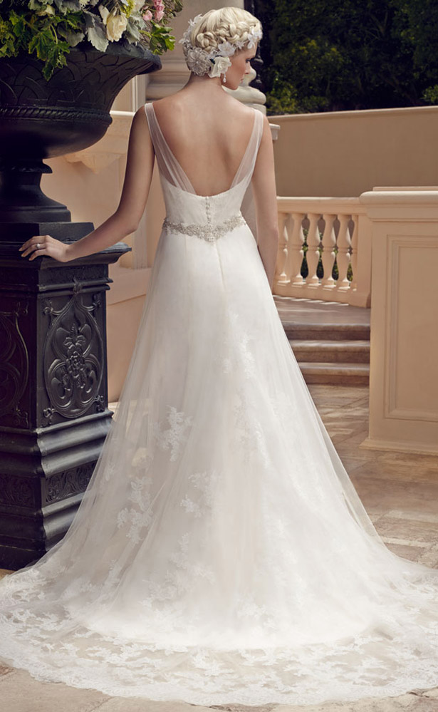 Casablanca Bridal Spring 2015 2196_Back