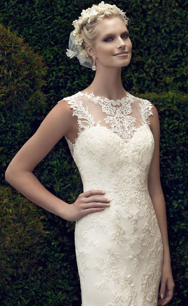 Casablanca Bridal Spring 2015 2198_Close_Up