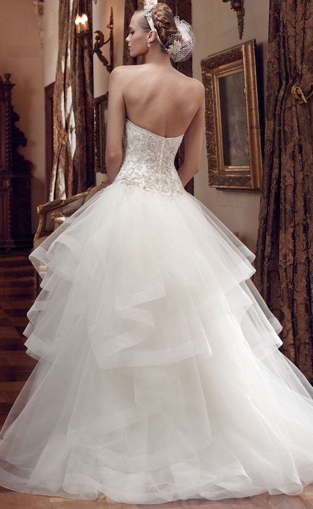 Casablanca Bridal Spring 2015 2199_Back
