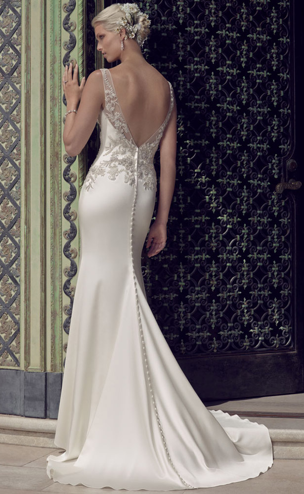 Casablanca Bridal Spring 2015 2202_Back