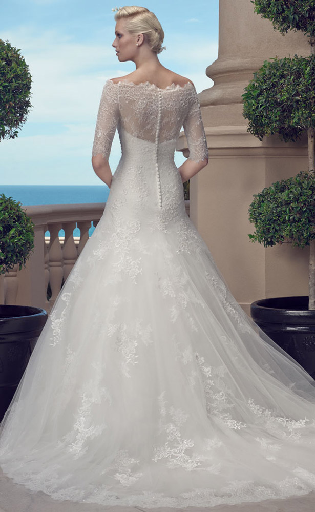 Casablanca Bridal Spring 2015 2203_Back