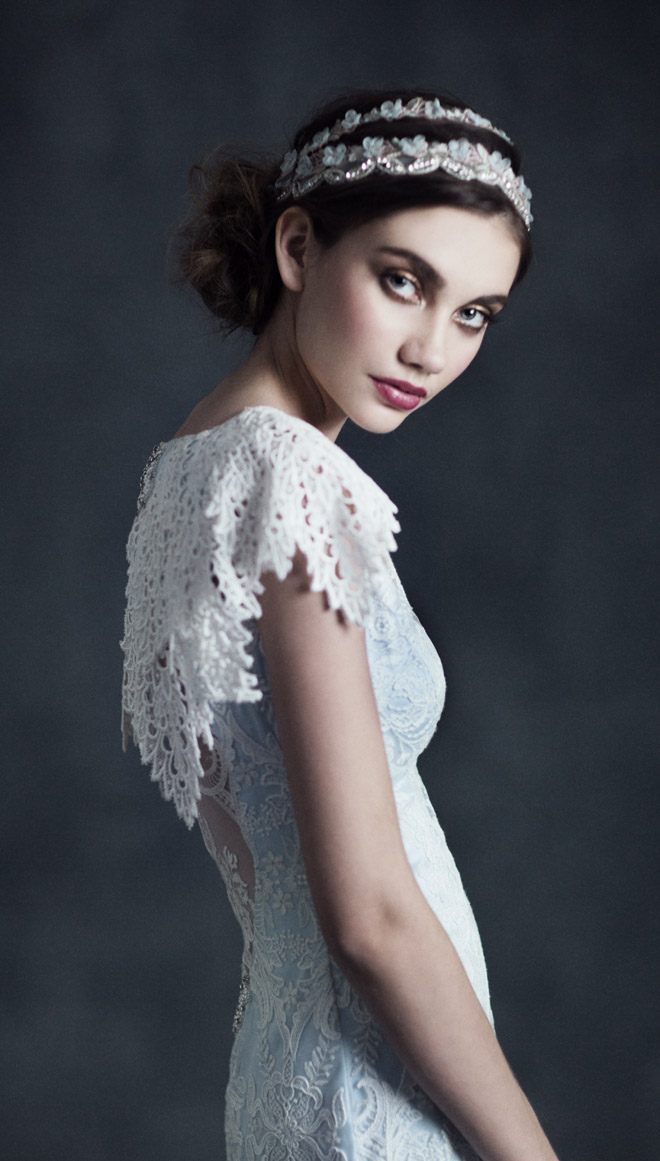 Claire Pettibone 2015 Bridal Collection Gothic Angel