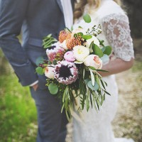 Bohemian romance wedding inspiration - Cassandra Farley Photography