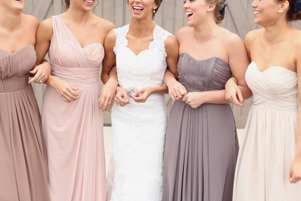 Elegant Rustic Wedding Bridesmaid Dresses