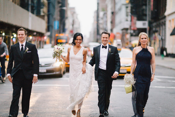 Modern New York Wedding