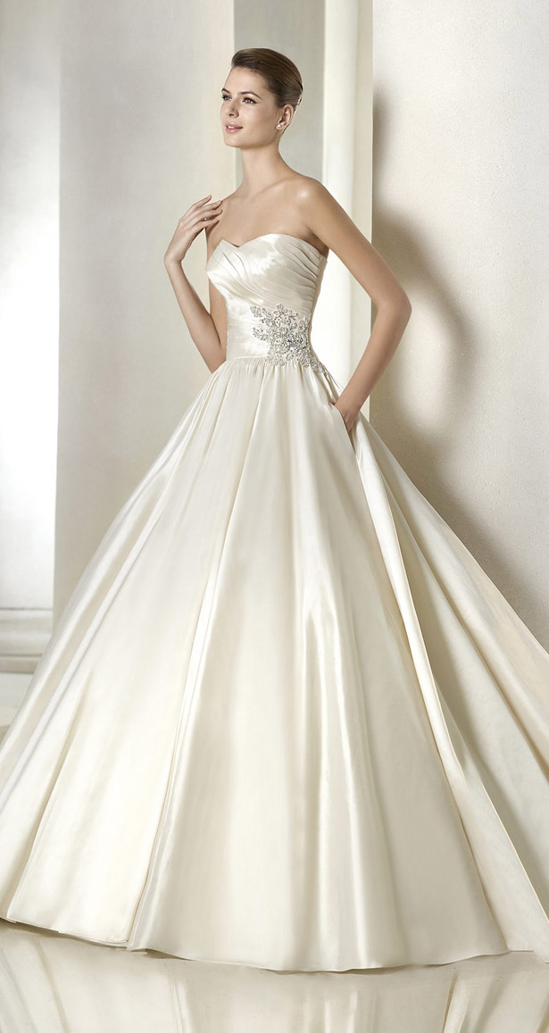 42e4130f77 Wedding Dresses From The St. Patrick Bridal 2015 Glamour Collection -  crazyforus
