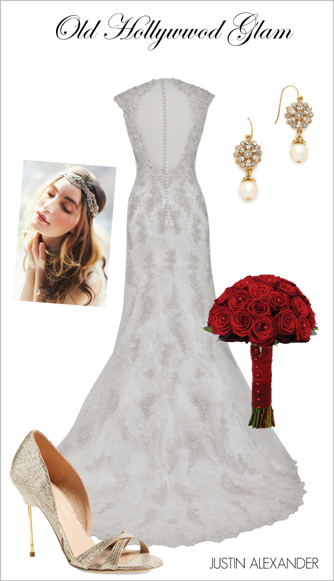 Wedding Day Look: Old Hollywood Glam - Belle The Magazine