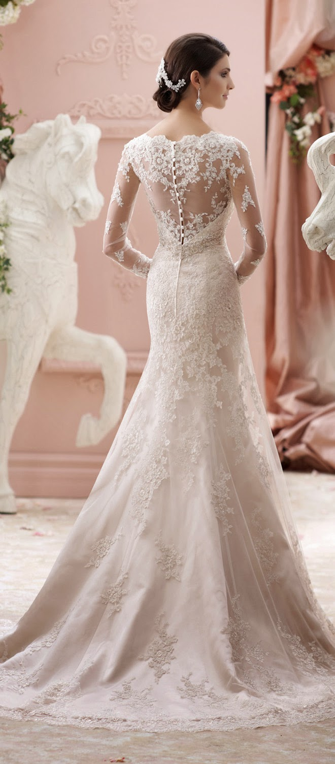 Winter wedding dresses belle the magazine david junglespirit Image collections