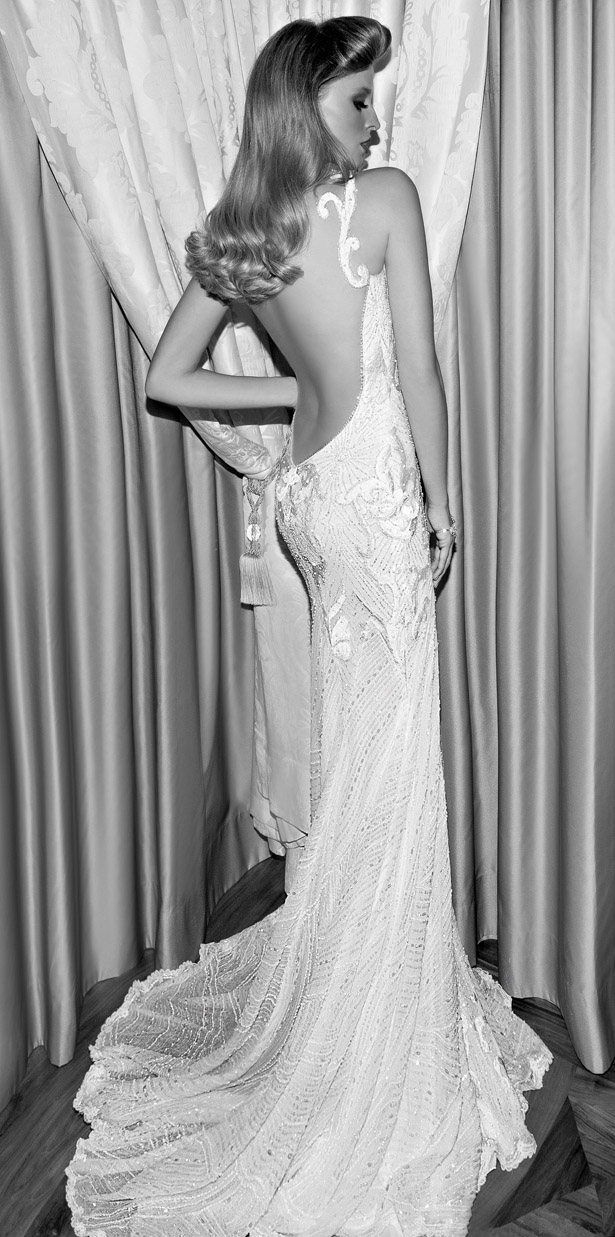 Galia Lahav : Tales of the Jazz Age Bridal Collection - Audrey Back