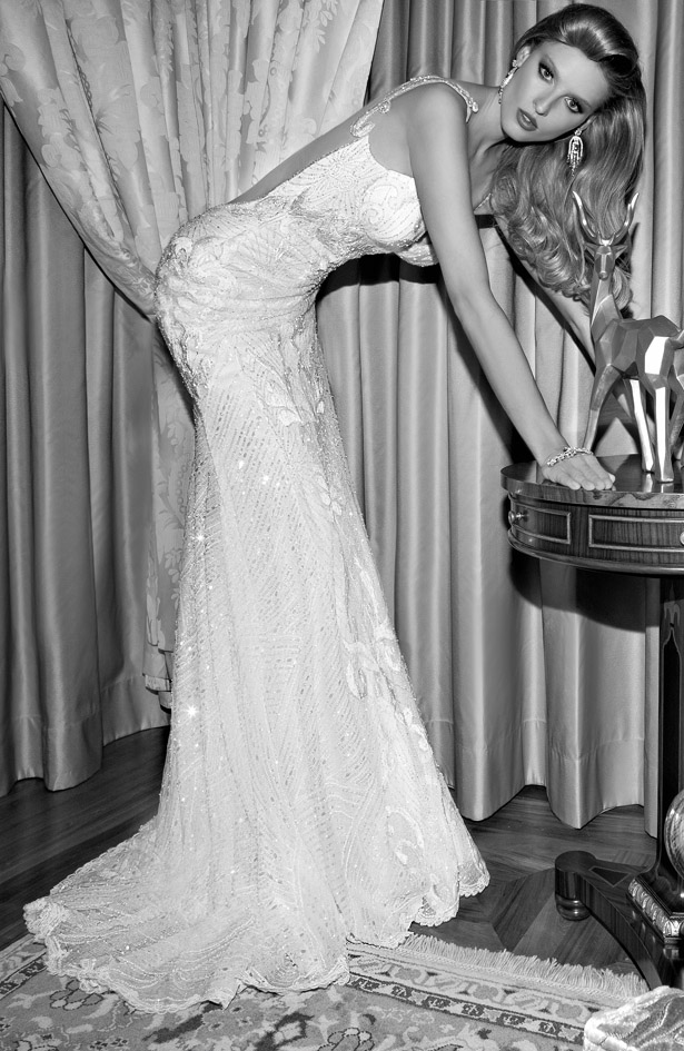 Galia Lahav : Tales of the Jazz Age Bridal Collection - Audrey Side