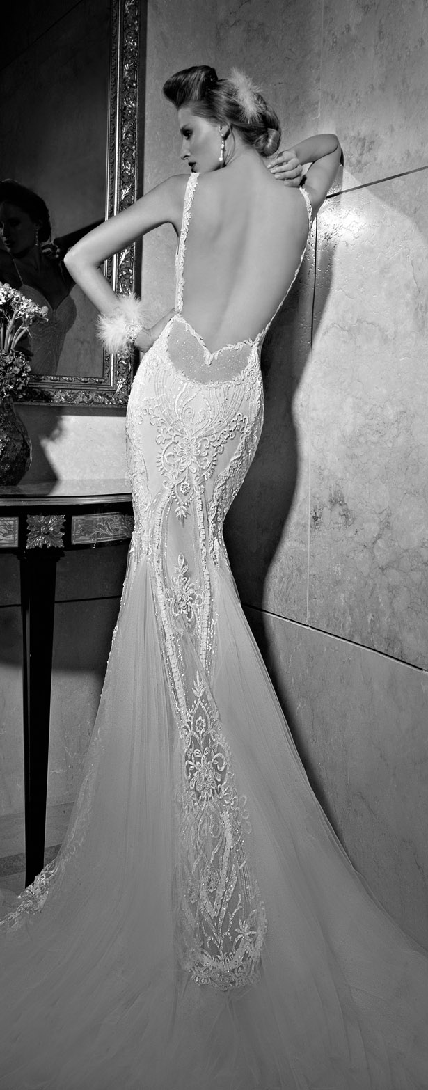 Galia Lahav : Tales of the Jazz Age Bridal Collection - Greta Garbo