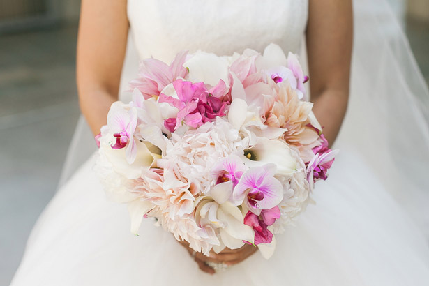Pink Wedding Boquet - Melvin Gilbert Photography