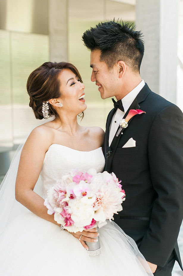 Pink Modern Fairy Tale Wedding - Melvin Gilbert Photography