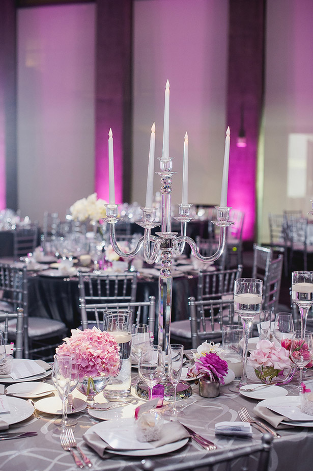 Pink Wedding Decor - Melvin Gilbert Photography
