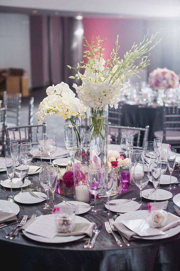 Wedding Centerpiece - Melvin Gilbert Photography
