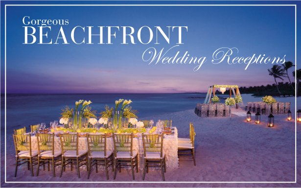Gorgeous Beachfront Wedding Receptions