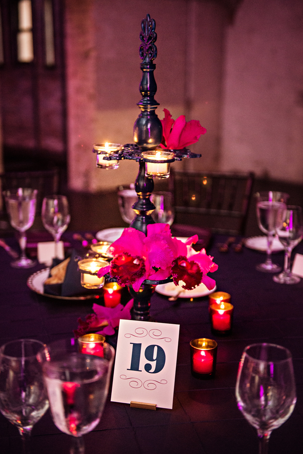 Sophisticated Purple Wedding - Belle The Magazine