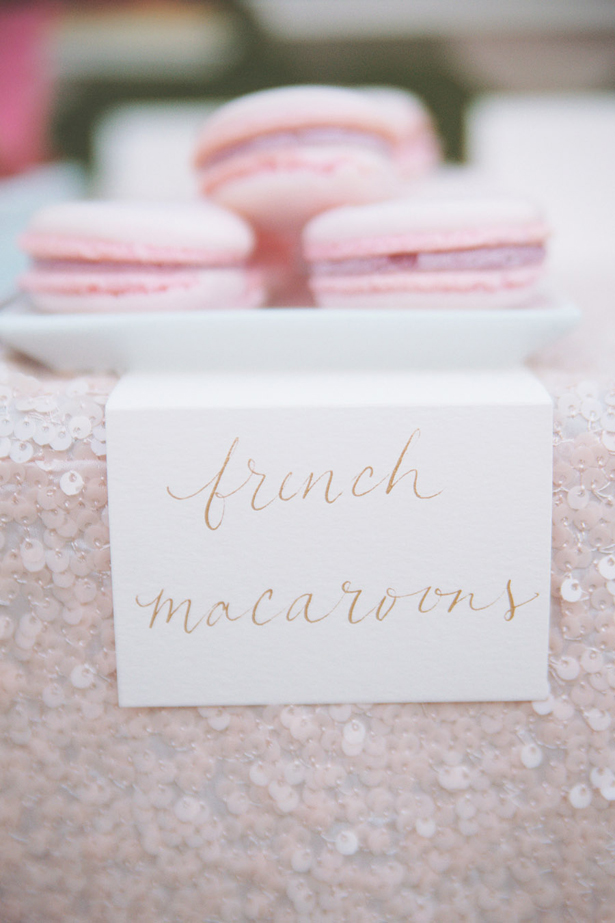 French Macaroons Weddings