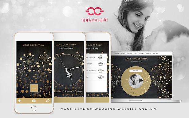Fireworks for a Black-Tie Wedding with Appy Couple + Discount