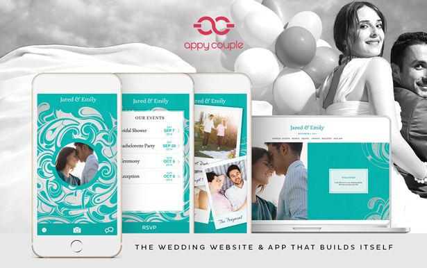 A Chic Aqua Wedding by Appy Couple + Discount