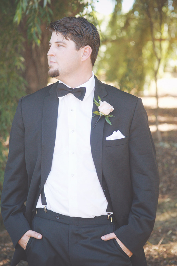 Groom on Classic Tux