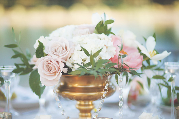 wedding low centerpiece