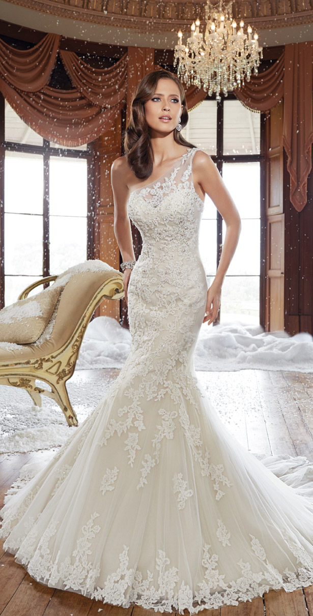 230672aabf6 Sophia Tolli Fall 2015 Bridal Collection - Belle The Magazine