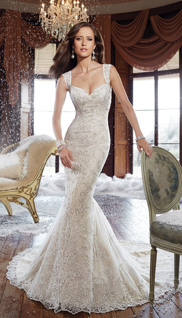 Sophia tolli fall 2015 bridal collection belle the magazine for Wedding dress sophia tolli