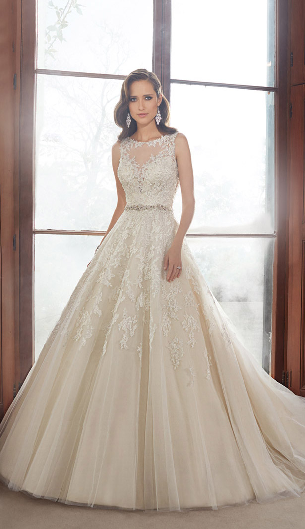 Sophia Tolli Fall 2015 Bridal Collection - Belle The Magazine