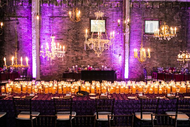 Sophisticated Purple Wedding