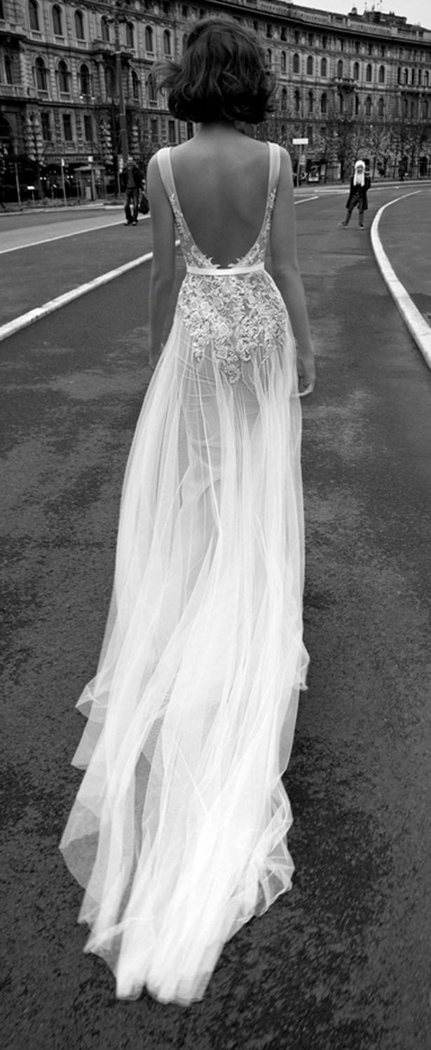 wedding dress liz martinez bridal collection milan 2015