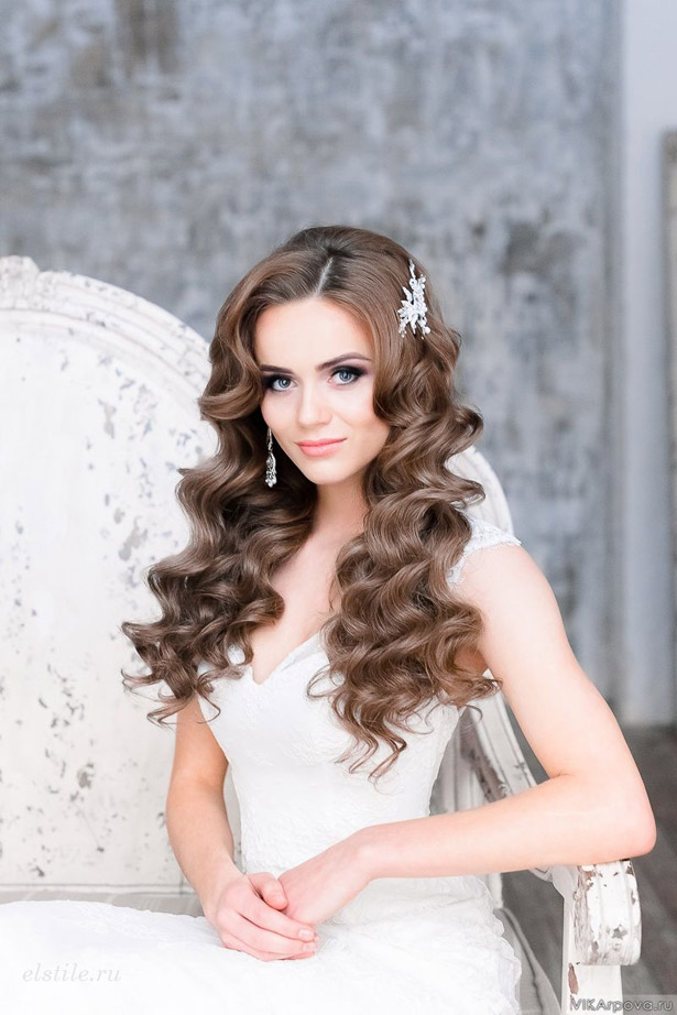 Wedding Makeup And Hair Images : Gorgeous Wedding Hairstyles and Makeup Ideas - Belle The ...
