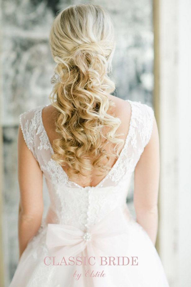 Gorgeous Wedding Hairstyles and Makeup Ideas - Belle The